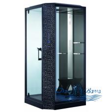 Душевая кабина Orans SR-89101 LS Black 100х100