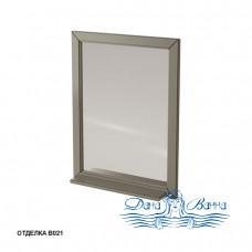 Зеркало Caprigo Albion 60/70 с полкой, цвет В021