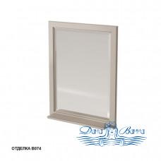 Зеркало Caprigo Albion 60/70 с полкой, цвет В074