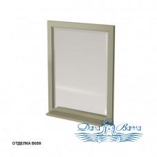 Зеркало Caprigo Albion 60/70 с полкой, цвет В059