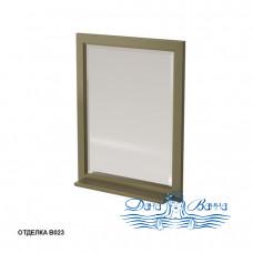 Зеркало Caprigo Albion 60/70 с полкой, цвет В023