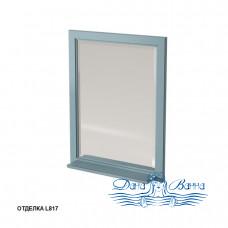Зеркало Caprigo Albion 60/70 с полкой, цвет L817