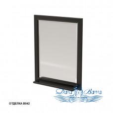 Зеркало Caprigo Albion 60/70 с полкой, цвет В042