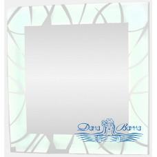 Зеркало Континент Allegro LED (77х77) с подсветкой