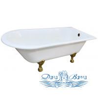 Чугунная ванна Magliezza Susanna 168x77 цветная, ножки бронза