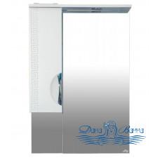 Зеркальный шкаф Misty Престиж 60 L/R белый (с подсветкой)