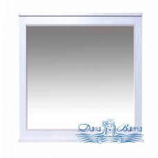 Зеркало Misty Марта 80 белое фактурное