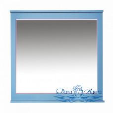 Зеркало Misty Марта 80 голубое матовое