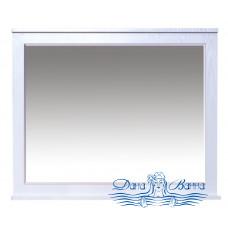 Зеркало Misty Марта 100 белое фактурное