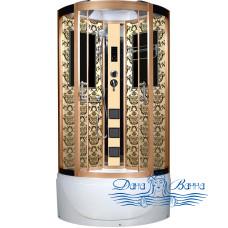 Душевая кабина Niagara Lux 7710G золото 100х100