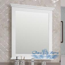 Зеркало Opadiris Палермо 80 белый матовый