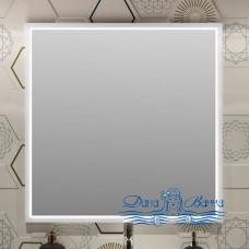 Зеркало Opadiris Вегас 80 белый глянец (с подсветкой)