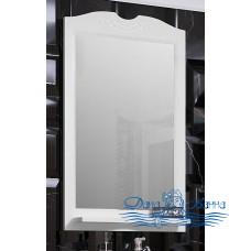 Зеркало Opadiris Клио 65 белый матовый (без светильников)