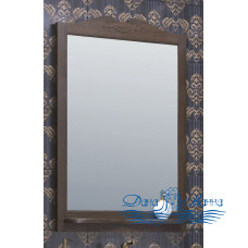 Зеркало Opadiris Клио 75 орех антик (без светильников)