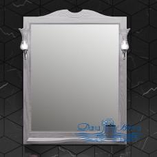 Зеркало Opadiris Тибет 85 ясень/белое серебро (без светильников)