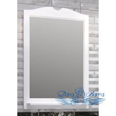 Зеркало Opadiris Тибет 75 белый матовый (без светильников)