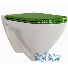 Унитаз подвесной Sanita luxe Attica SC Green (с микролифтом) ATCSLWH0113