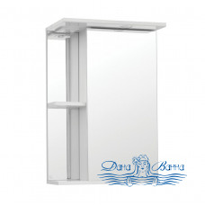 Зеркальный шкаф Style Line Николь 45/С белый
