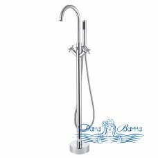 Смеситель для ванны Swedbe Spira 4002 напольный