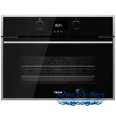 Духовой шкаф электрический Teka HLC 844 C BLACK-SS (с функцией СВЧ)