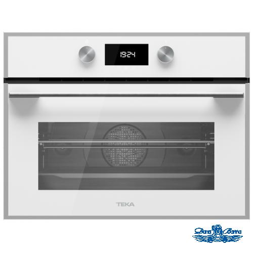 Духовой шкаф электрический Teka HLC 844 C WHITE-SS (с функцией СВЧ)