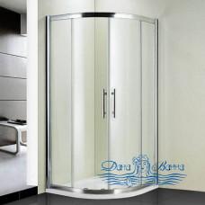 Душевой уголок RGW Hotel HO-51 100x100 профиль хром, стекло чистое