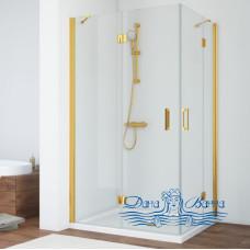 Душевой уголок Vegas Glass AFA 080 09 01 профиль золото, стекло прозрачное