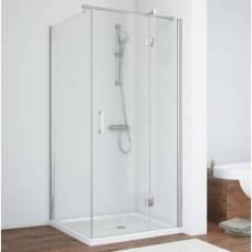 Душевой уголок Vegas Glass AFP-Fis 90х70 08 01 R профиль глянцевый хром, стекло прозрачное