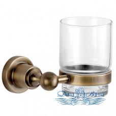 Стакан для зубных щеток Aquanet 3884 латунь