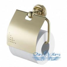 Держатель туалетной бумаги Aquanet 4686 золото