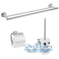 Комплект аксессуаров для ванной комнаты Hansgrohe Logis Universal 41727000