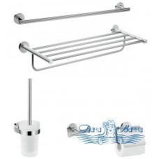 Комплект аксессуаров для ванной комнаты Hansgrohe Logis Universal 41728000