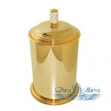 Ведро для мусора Boheme Murano 10907-W-G золото