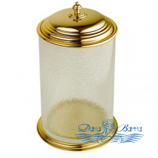 Ведро для мусора Boheme Palazzo Nero 10158 золото