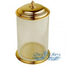Ведро для мусора Boheme Palazzo Bianco 10108 золото