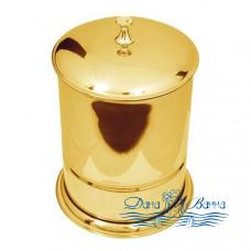Ведро для мусора Boheme Chiaro 10508 золото