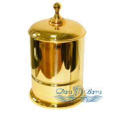 Ведро для мусора Boheme Imperiale 10408 золото
