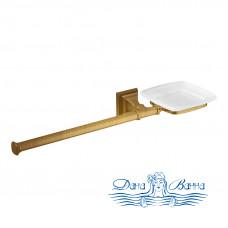 Держатель туалетной бумаги + мыльница Colombo Design Portofino B3274 DX.bronze