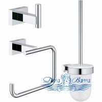 Набор аксессуаров для ванной Grohe Essentials Cube 40757001