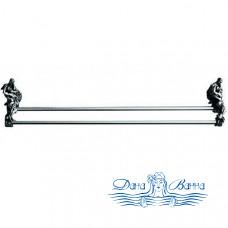 Держатель для полотенец Art&Max Romantic AM-0818-T серебро