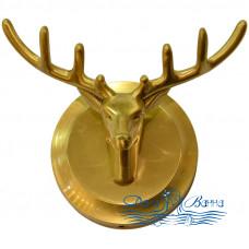 Двойной крючок Bronze de Luxe Royal 81152 бронза