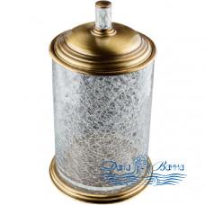 Ведро для мусора Boheme Murano Cristal 10914-CRST-BR бронза