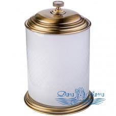 Ведро для мусора Boheme Royal Cristal 10934-BR бронза