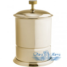 Ведро для мусора Boheme Royal Cristal 10927-G золото