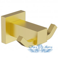 Двойной крючок Timo Selene 17012/17 золото матовое