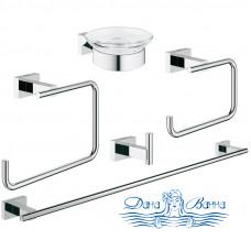 Набор аксессуаров для ванной Grohe Essentials Cube 40758001