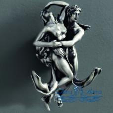 Двойной крючок Art&Max Romantic AM-B-0812 серебро