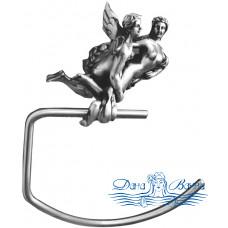 Держатель для полотенец Art&Max Romantic AM-B-0816-T серебро