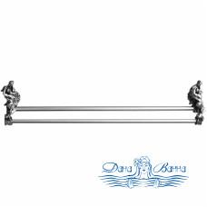 Держатель для полотенец Art&Max Romantic AM-B-0818-T серебро