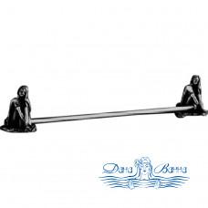 Держатель для полотенец Art&Max Juno AM-0717 серебро